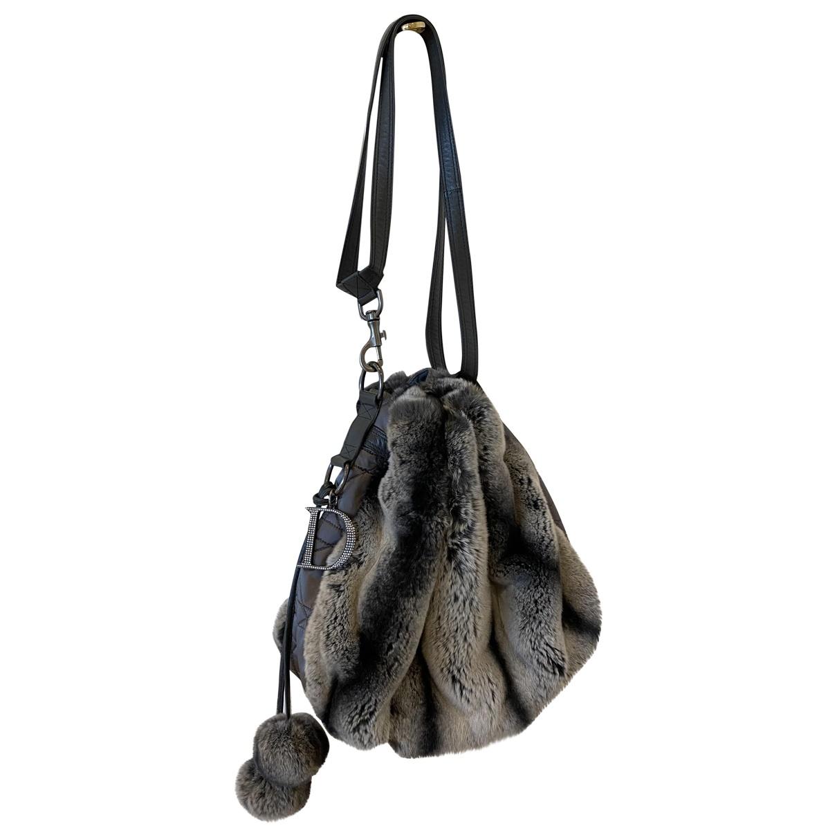 Dior \N Handtasche in  Grau Kaninchen