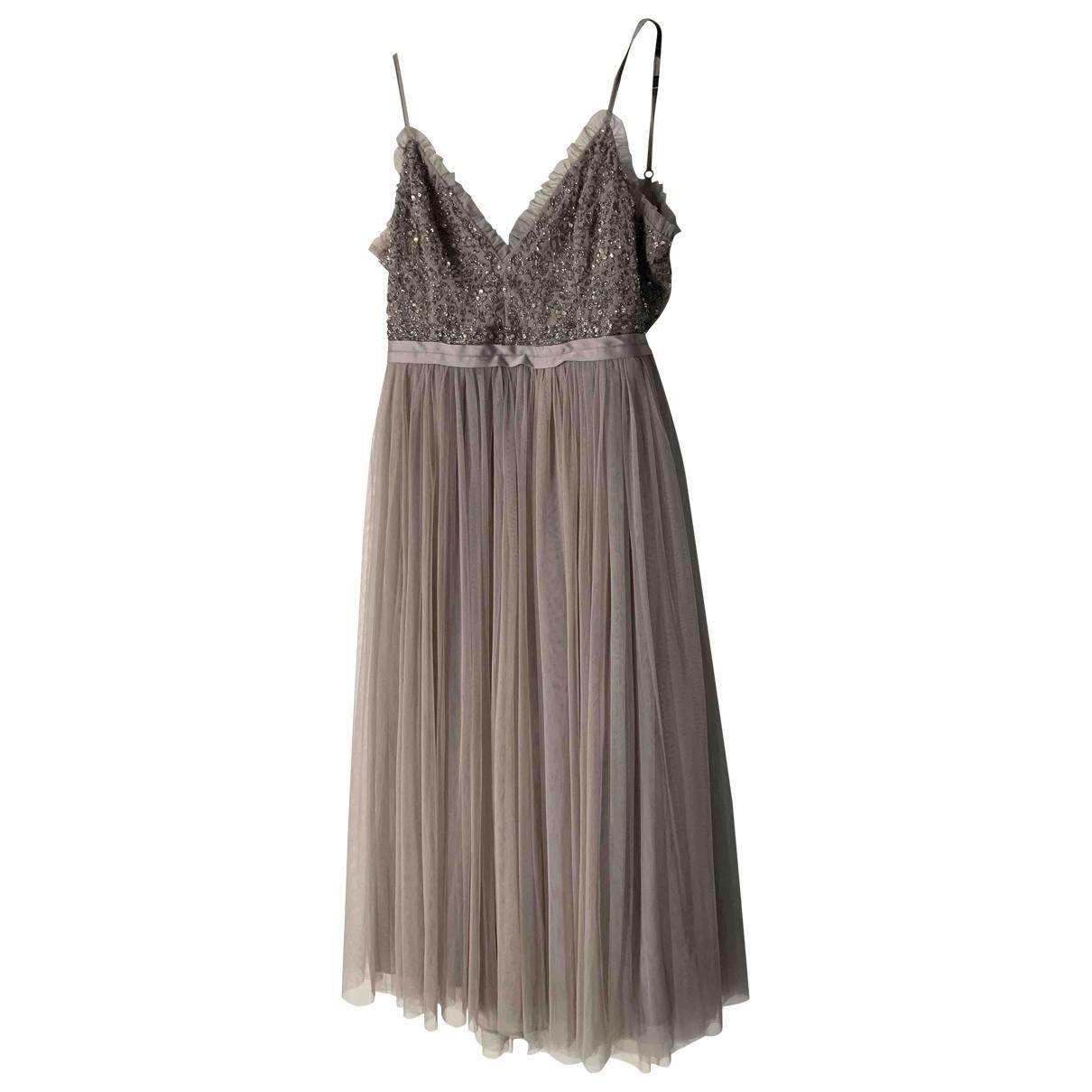 Needle & Thread \N Grey dress for Women 12 UK