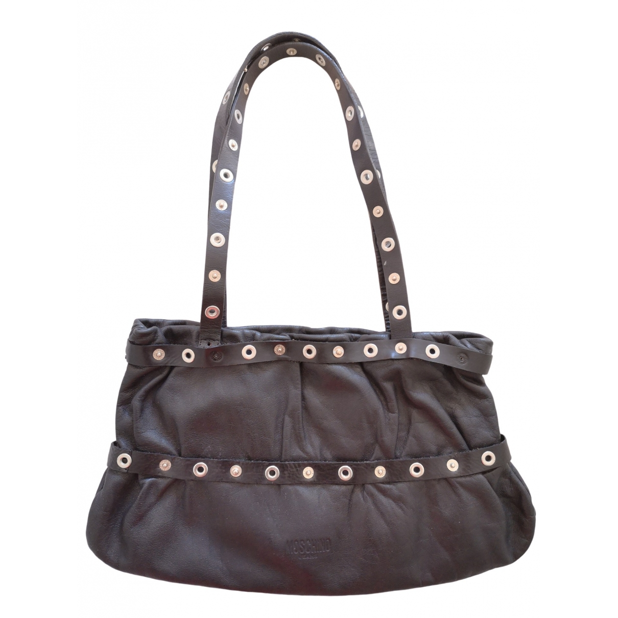 Moschino Cheap And Chic \N Black Leather handbag for Women \N