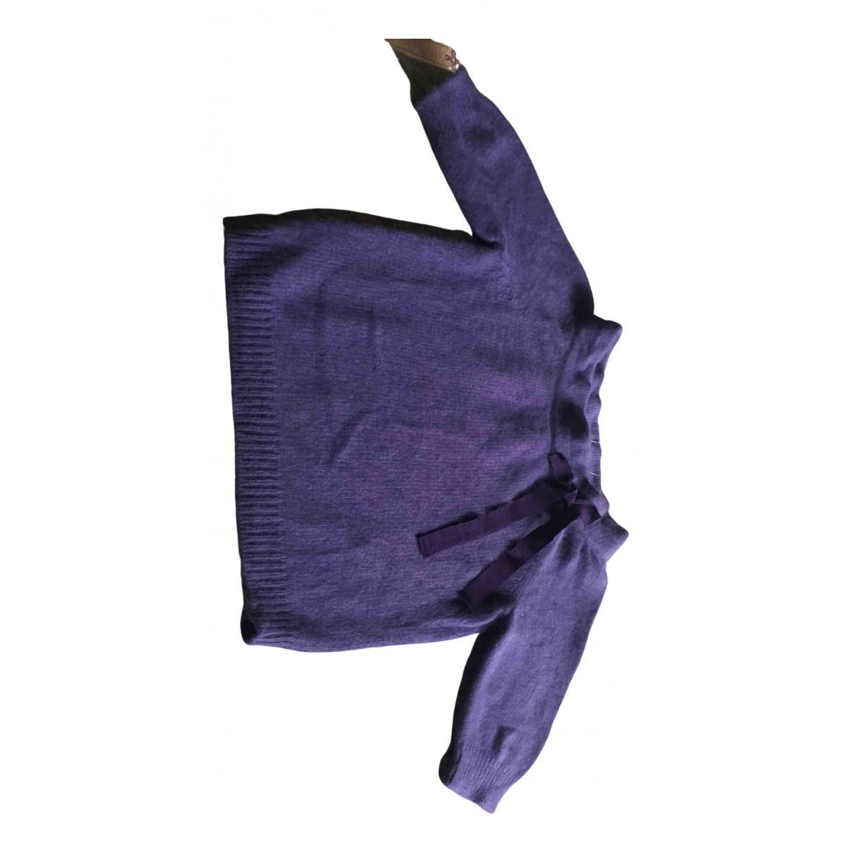 Moschino Cheap And Chic \N Purple Wool Knitwear for Women M International