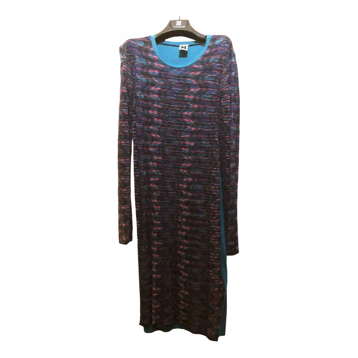 M Missoni - Robe   pour femme en laine - multicolore
