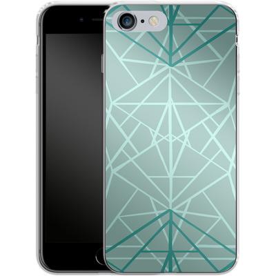 Apple iPhone 6 Plus Silikon Handyhuelle - Geometric Sketches 3 von Mareike Bohmer