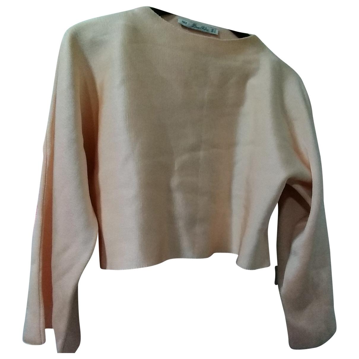 Zara \N Pullover in  Rosa Viskose