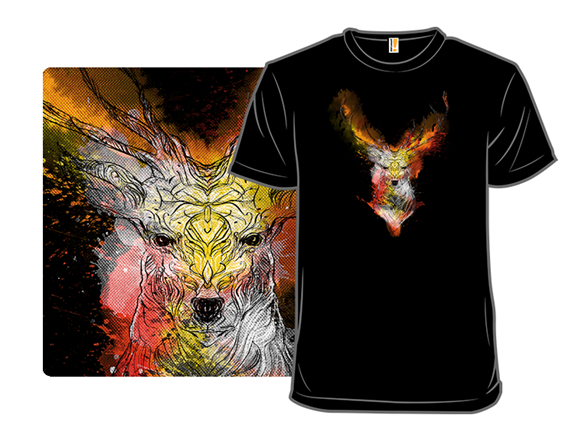 Ornamental Deer T Shirt