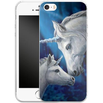 Apple iPhone 5s Silikon Handyhuelle - Sacred Love von Lisa Parker