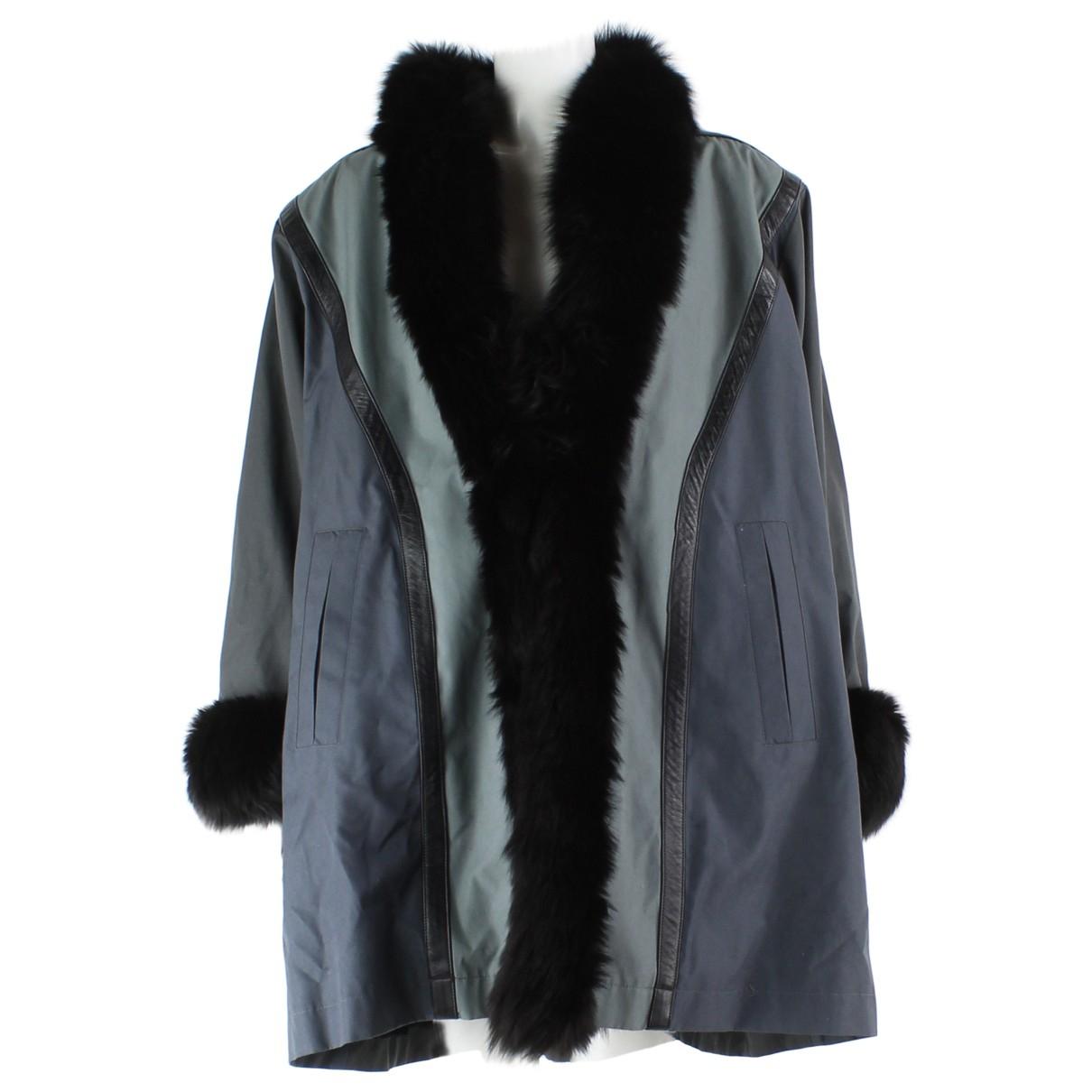 Yves Saint Laurent - Veste   pour femme - gris