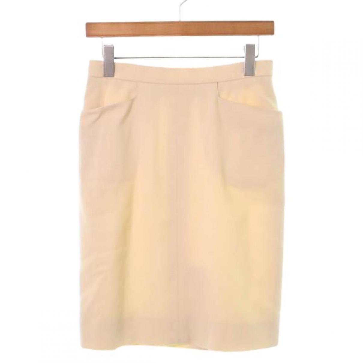 Falda midi de Lana Hermes