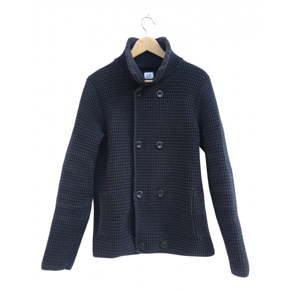 Cp Company - Vestes.Blousons   pour homme en coton - bleu