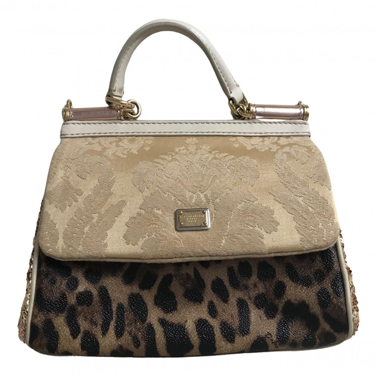 Dolce & Gabbana Sicily Leather handbag for Women \N
