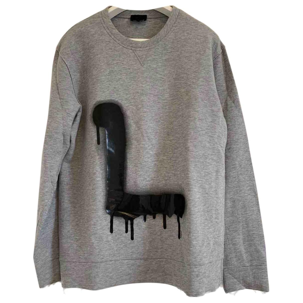 Lanvin - Pulls.Gilets.Sweats   pour homme en coton - gris