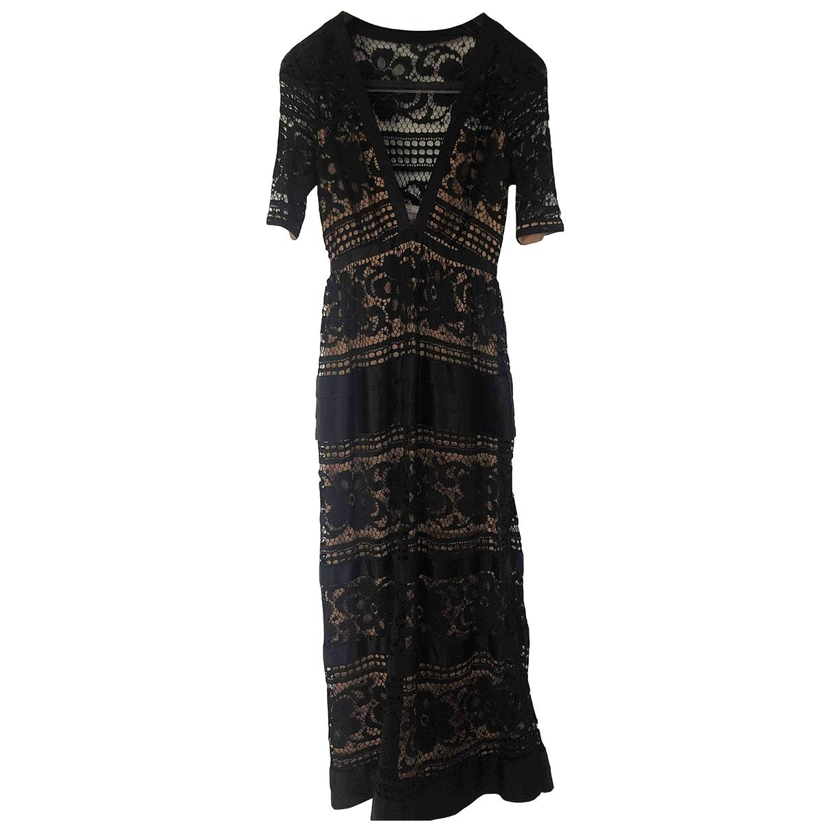 Temperley London \N Black Lace dress for Women XS International