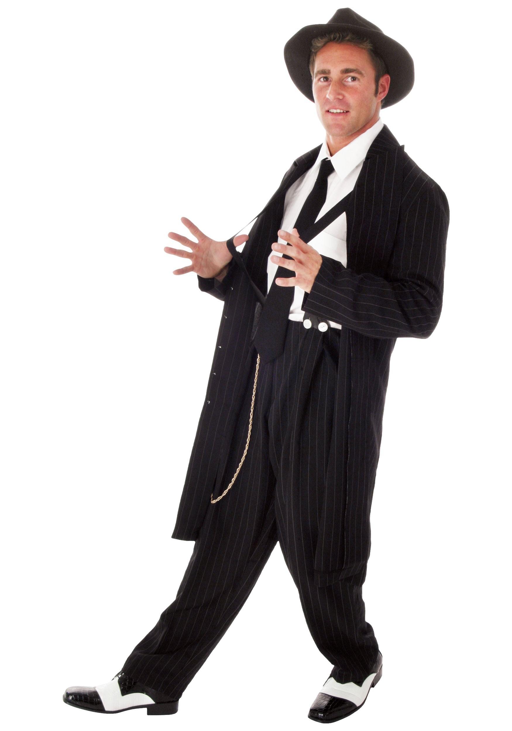Zoot Suit Plus Size Costume for Men