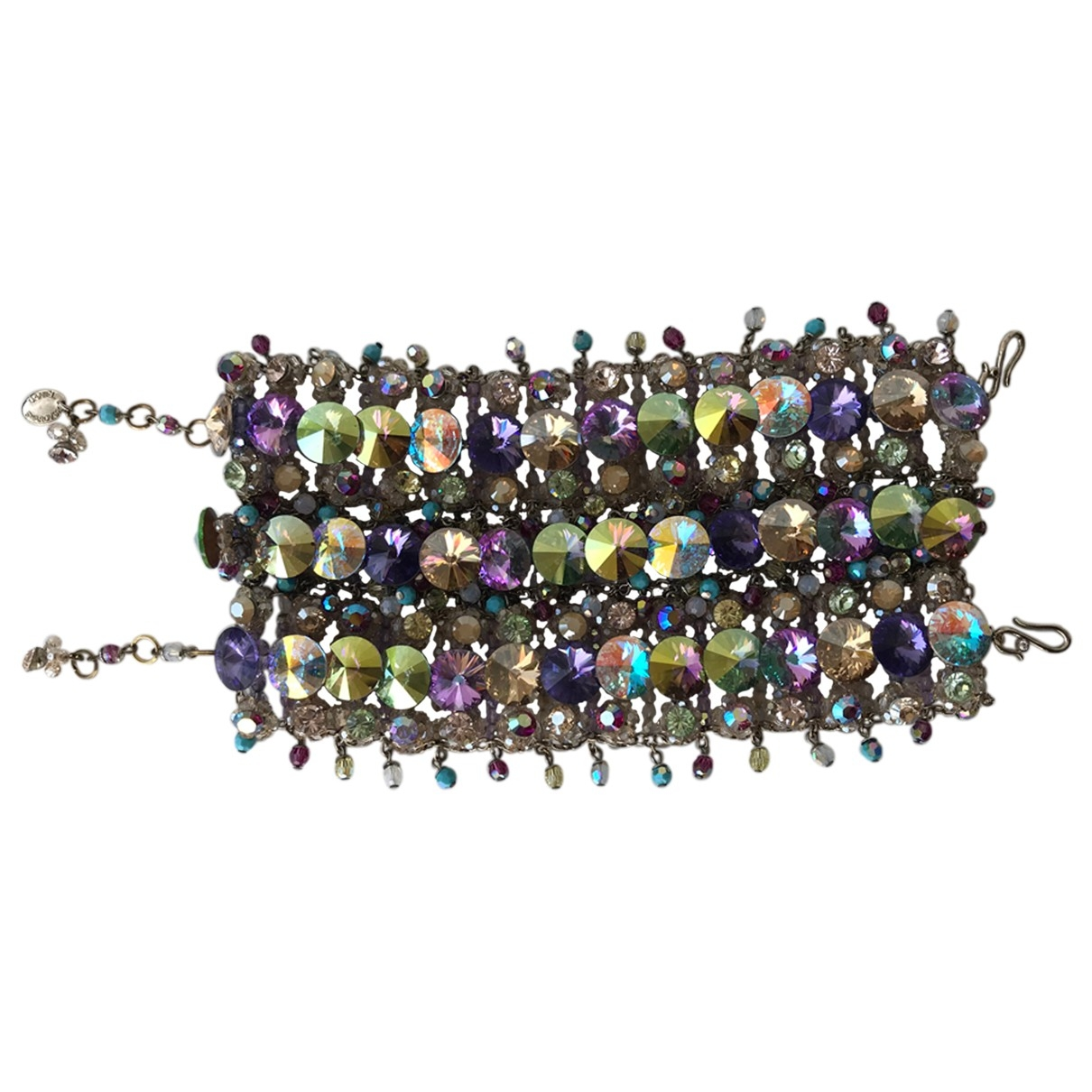 Swarovski \N Armband in  Bunt Kristall
