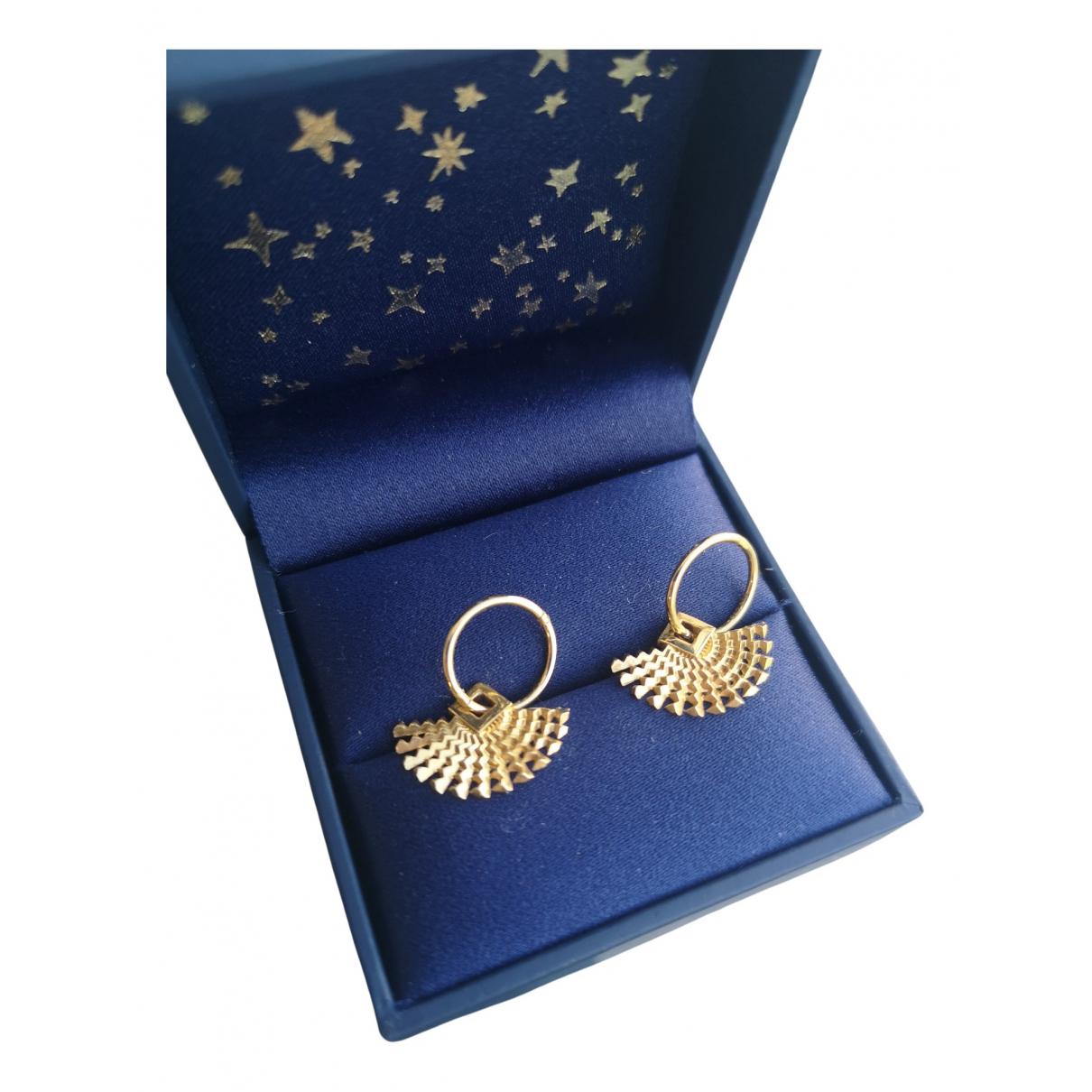 Zoe & Morgan \N OhrRing in  Gold Vergoldet