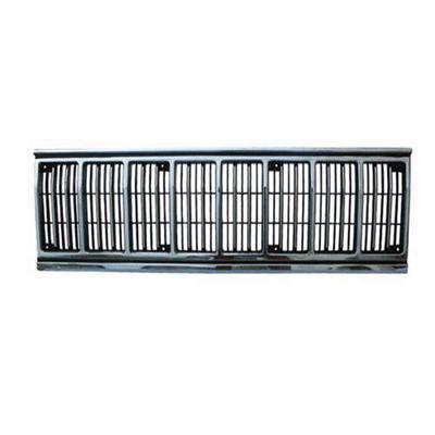 Crown Automotive Grille Insert (Black/Chrome) - 55034046