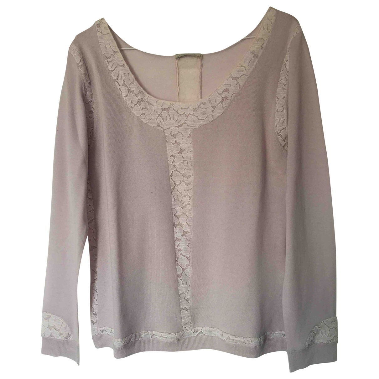 Nina Ricci \N Pullover in  Rosa Wolle