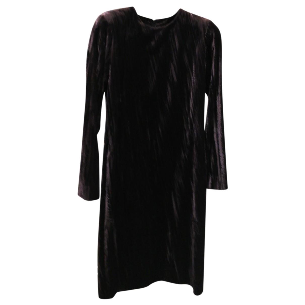 Yves Saint Laurent \N Kleid in  Lila Viskose