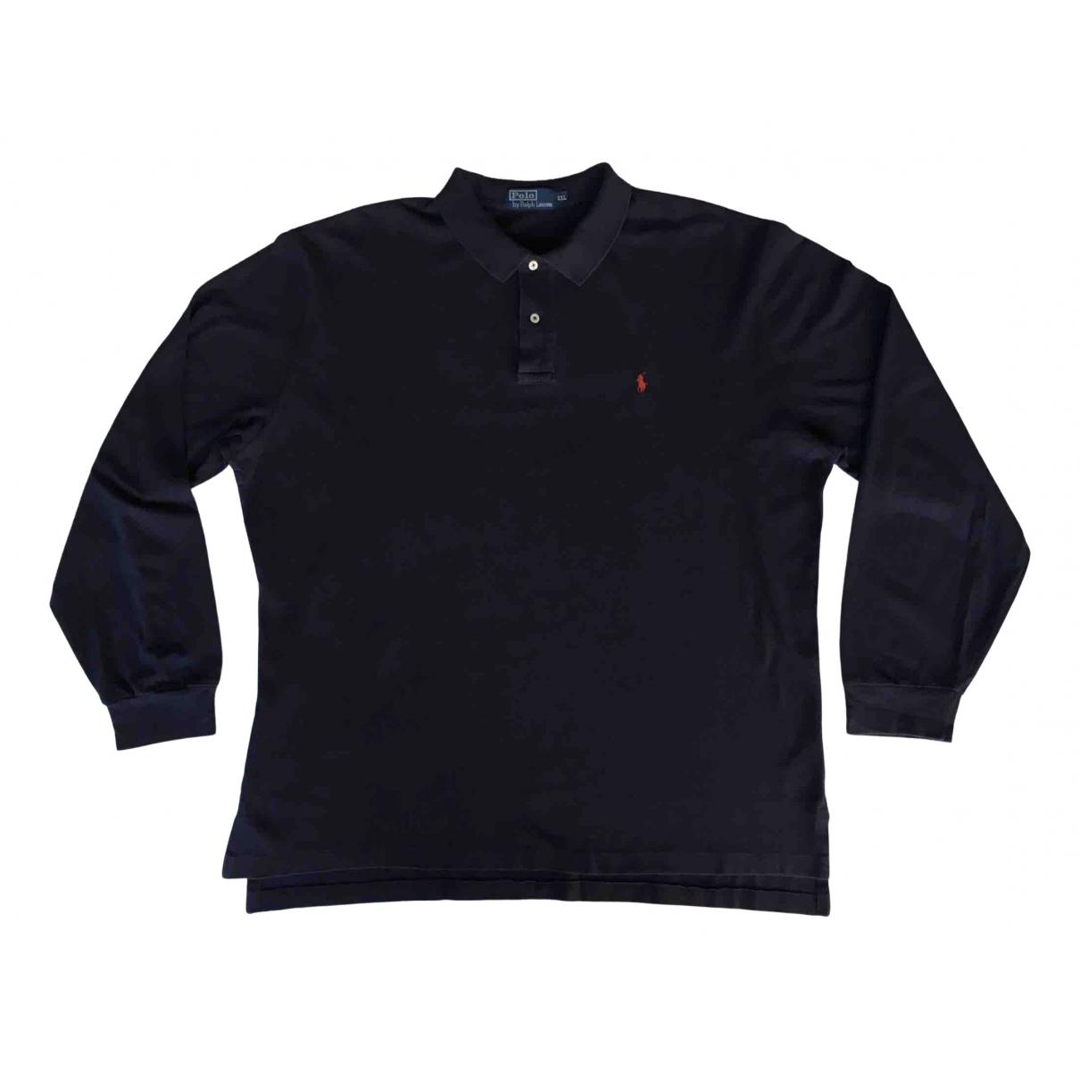Polo Ralph Lauren - Polos Polo classique manches longues pour homme en coton - bleu