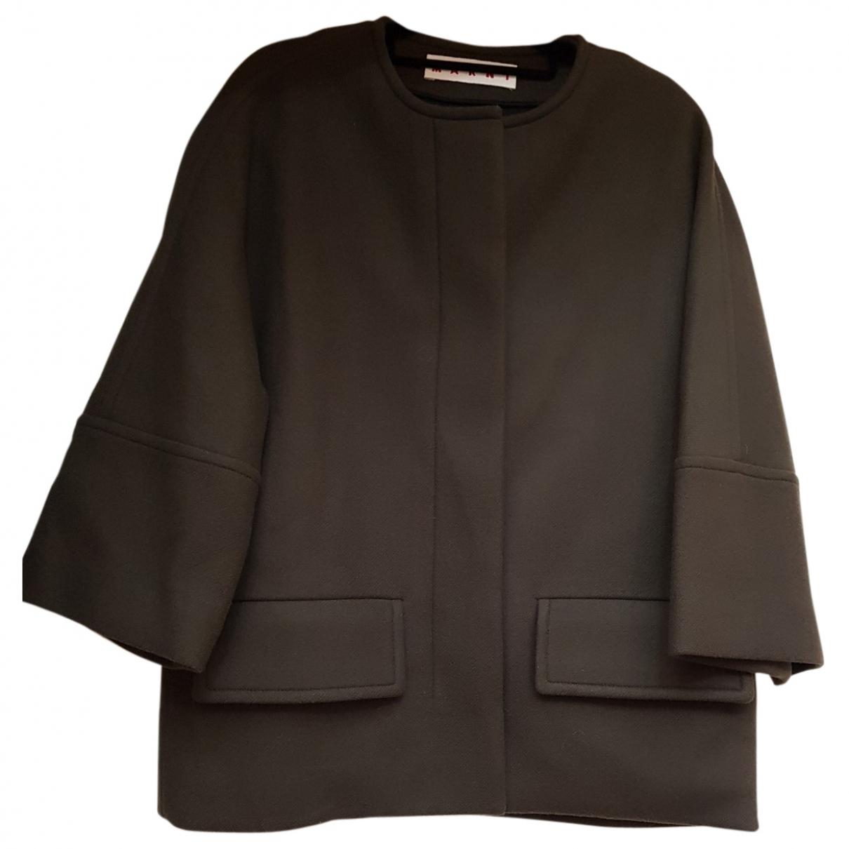 Marni - Veste   pour femme en laine - kaki