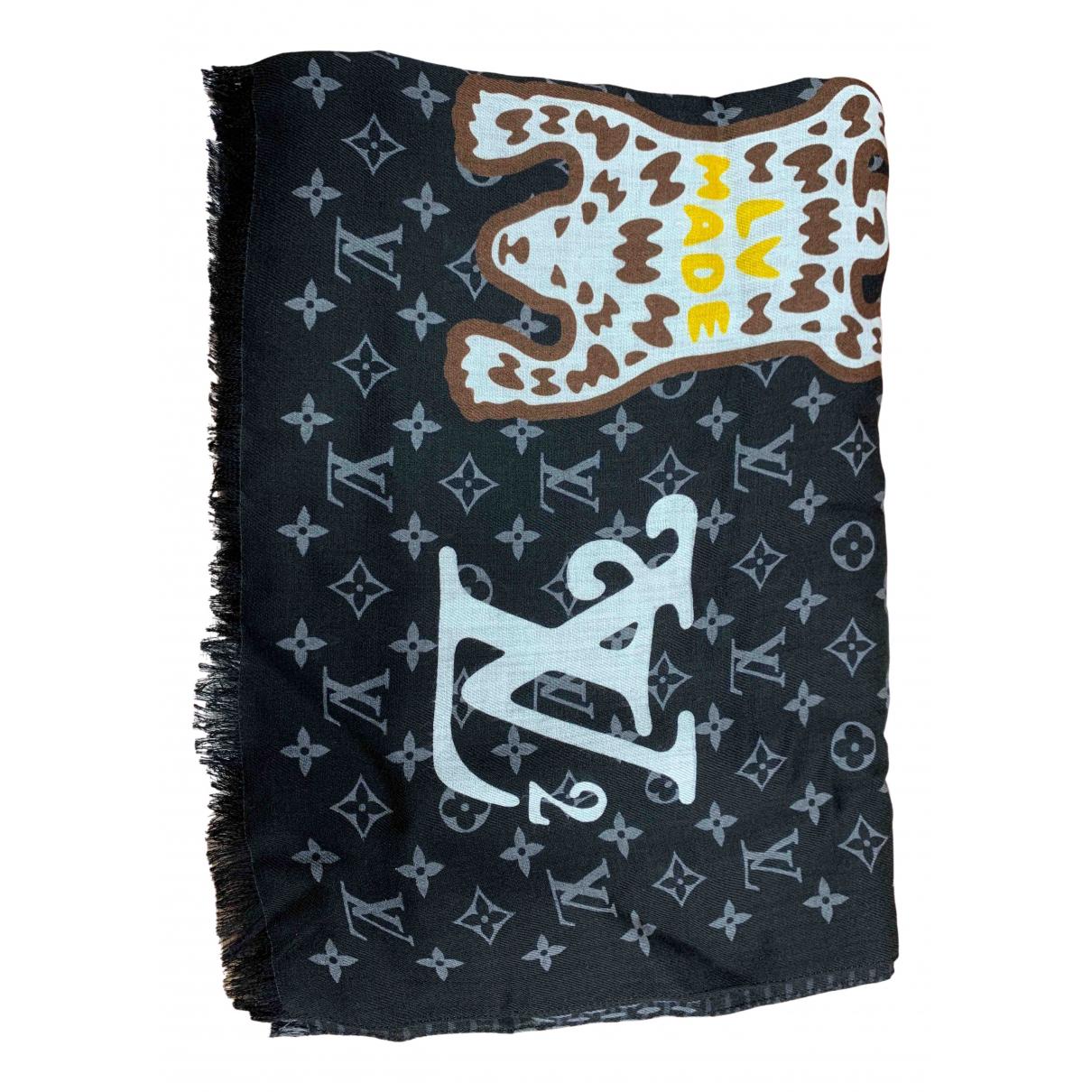 Louis Vuitton X Nigo \N Tuecher, Schal in  Grau Wolle