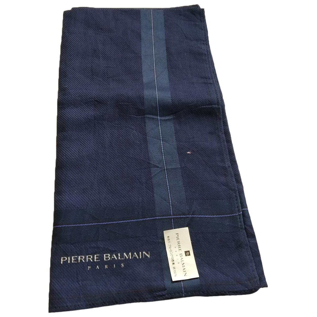Pierre Balmain - Cheches.Echarpes   pour homme en coton - bleu