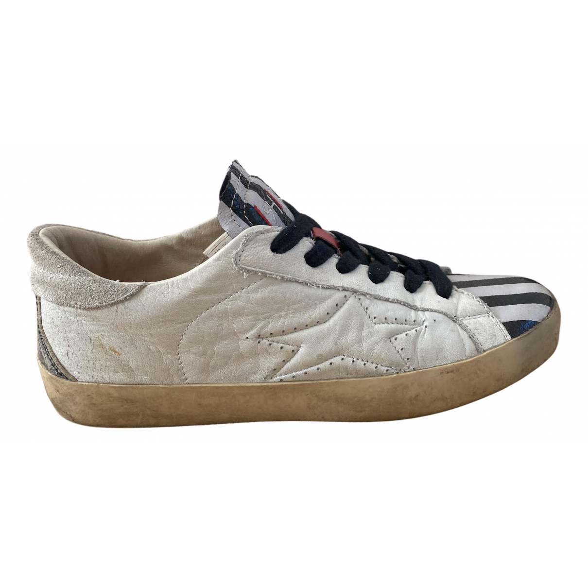 Non Signe / Unsigned \N Sneakers in  Bunt Leder