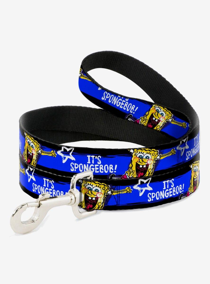 Spongebob Squarepants Pose It's Spongebob Blue Dog Leash