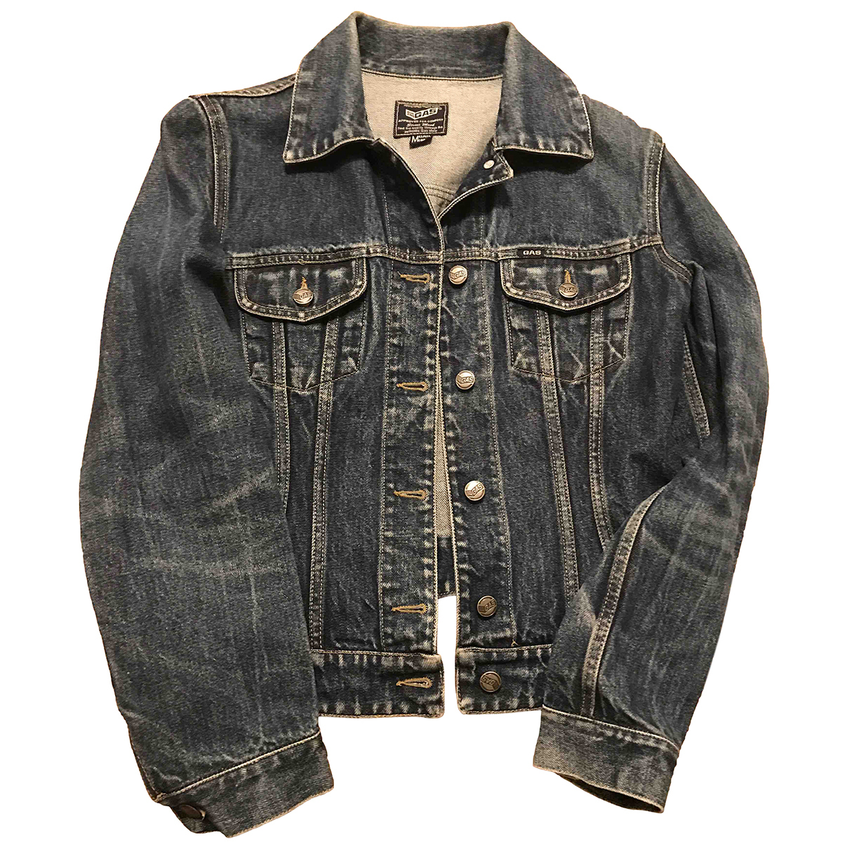 Gas \N Blue Denim - Jeans jacket for Women M International