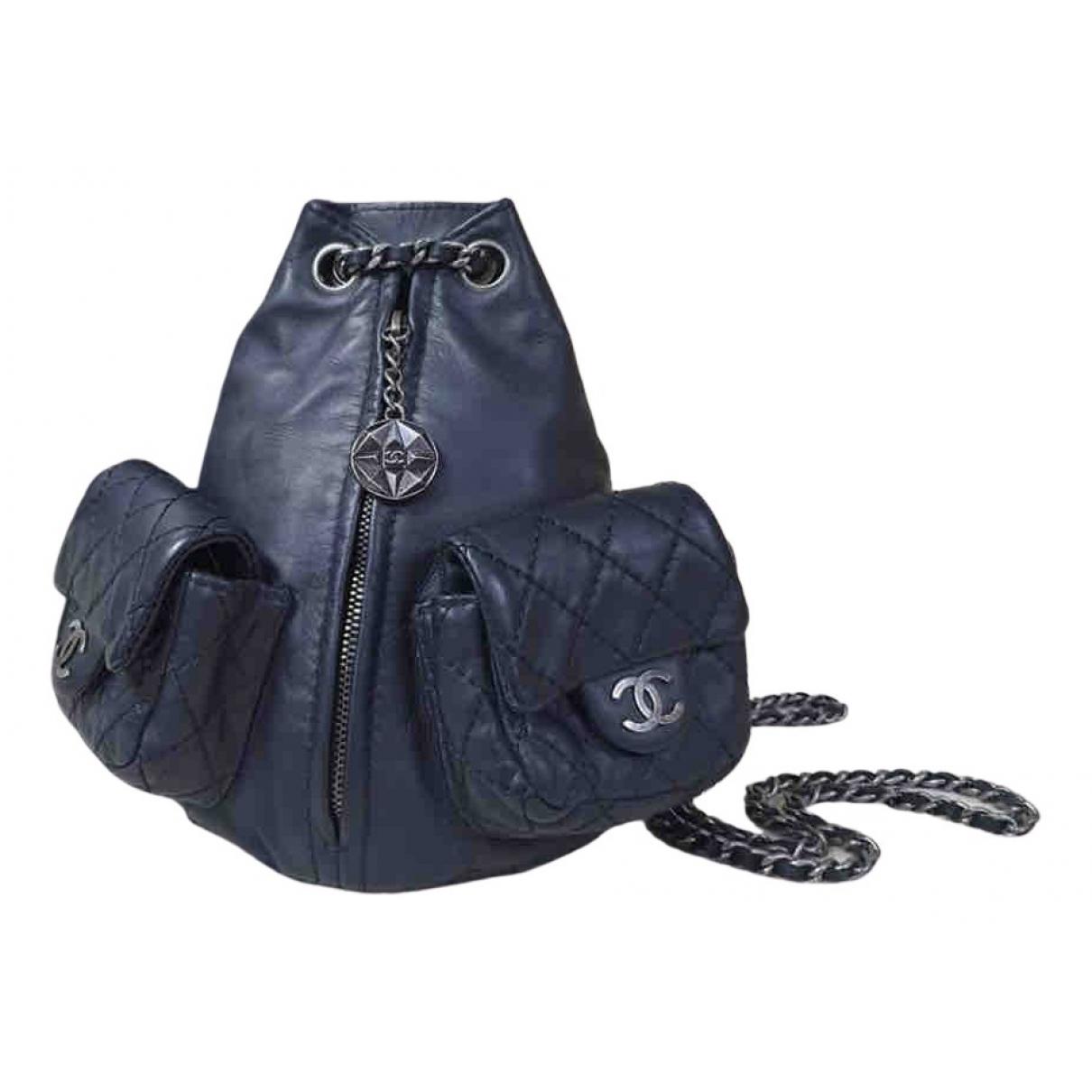 Mochila de Cuero Chanel