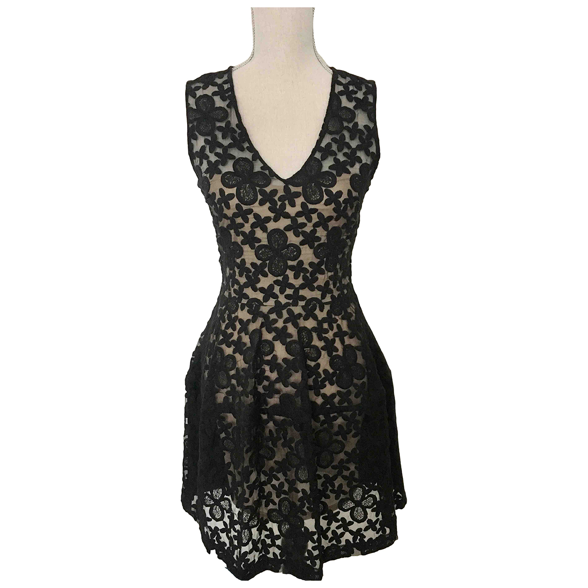 Maje N Black dress for Women 36 FR