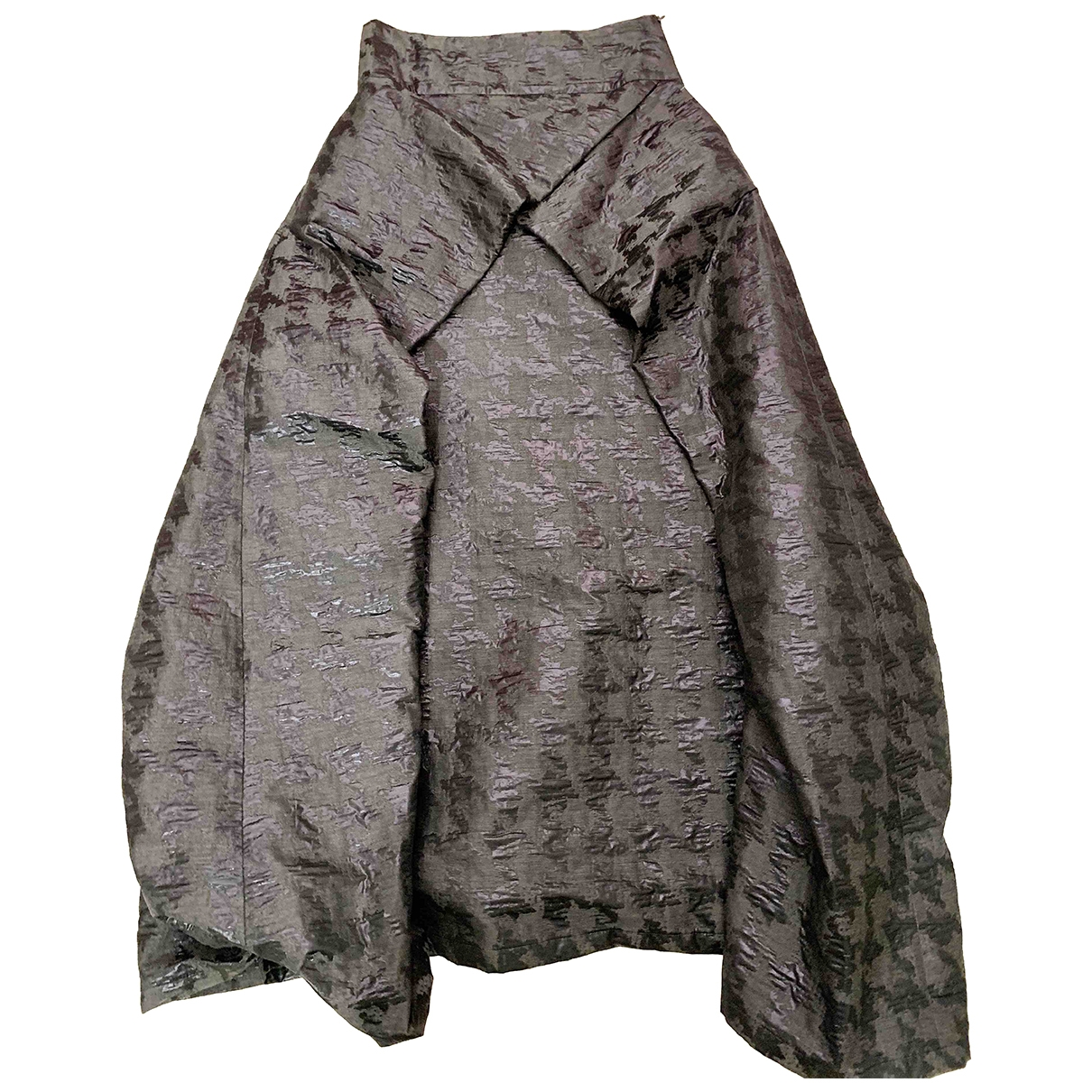 Non Signé / Unsigned \N Anthracite skirt for Women 42 IT