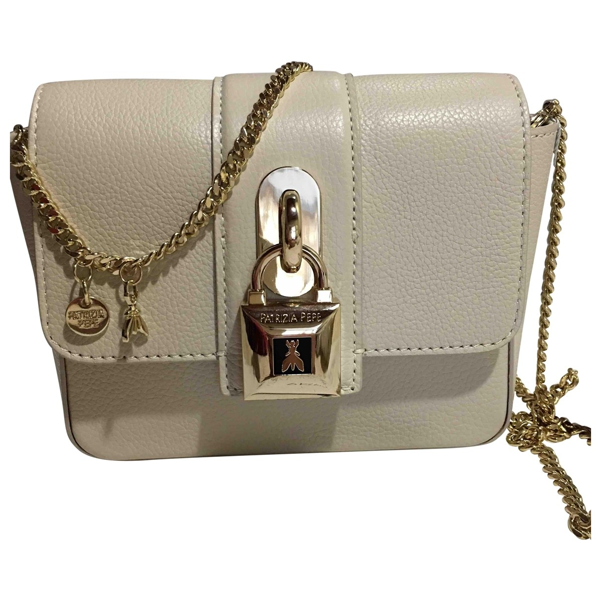Patrizia Pepe \N Beige Leather handbag for Women \N