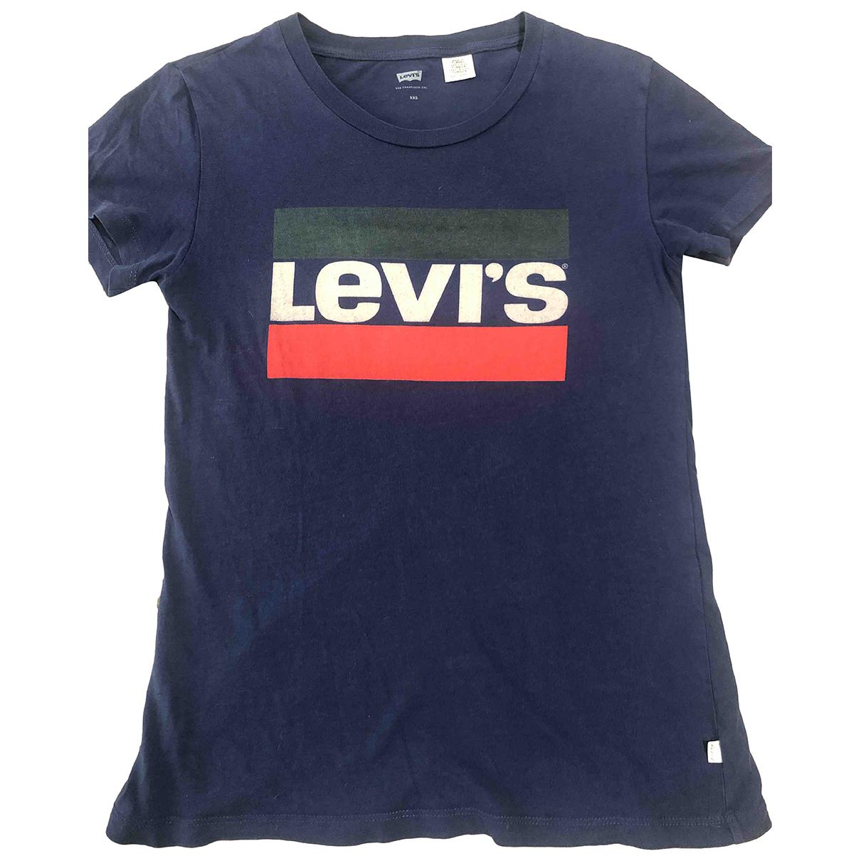 Levis N Blue Cotton  top for Women XXS International