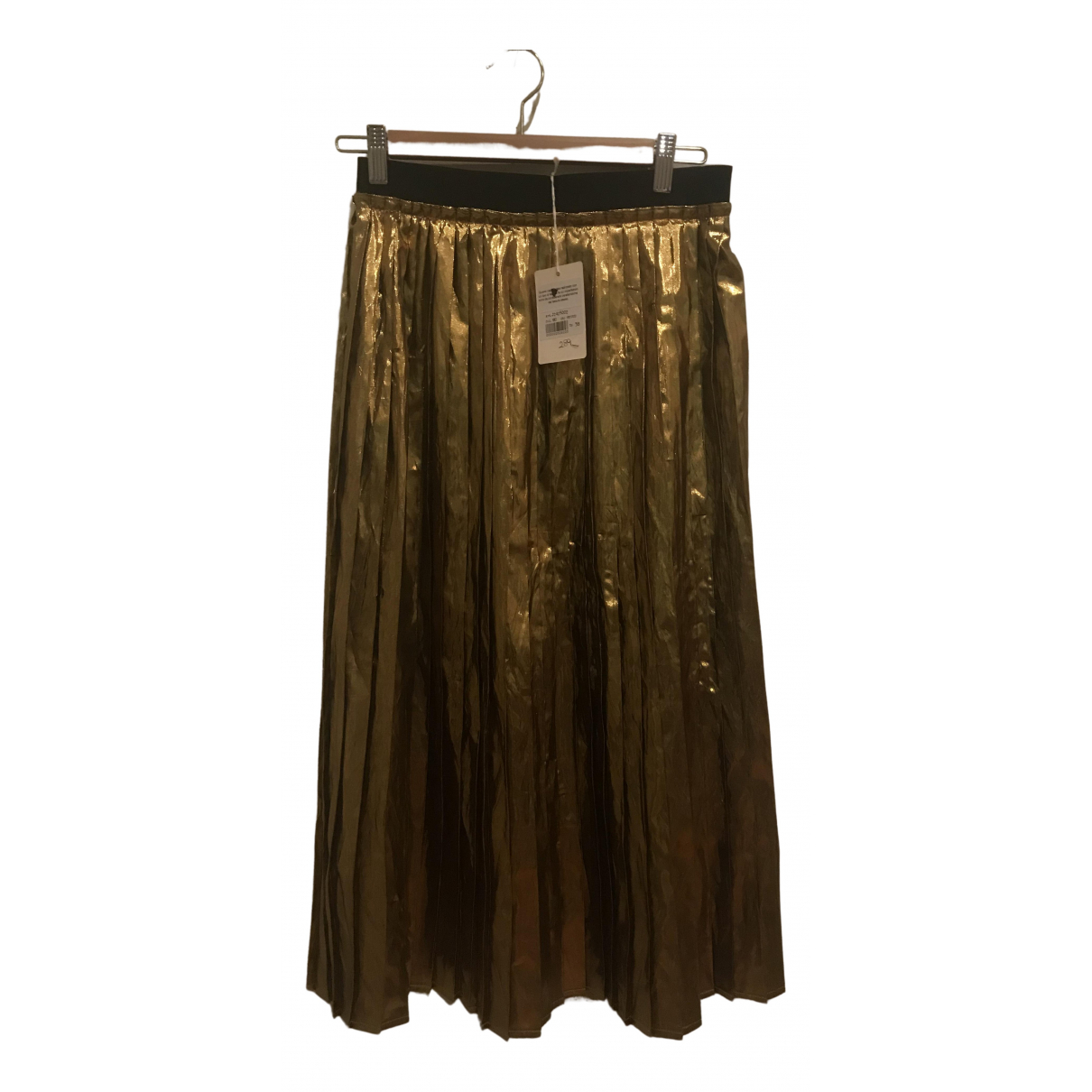 Jucca \N Rocke in  Gold Polyester