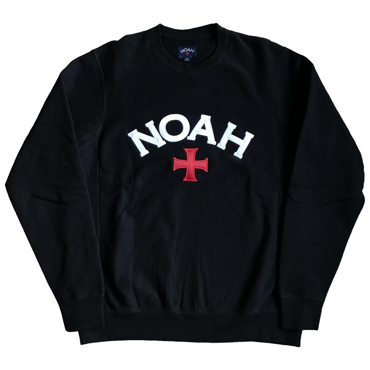 Noah - Pulls.Gilets.Sweats   pour homme en coton - noir
