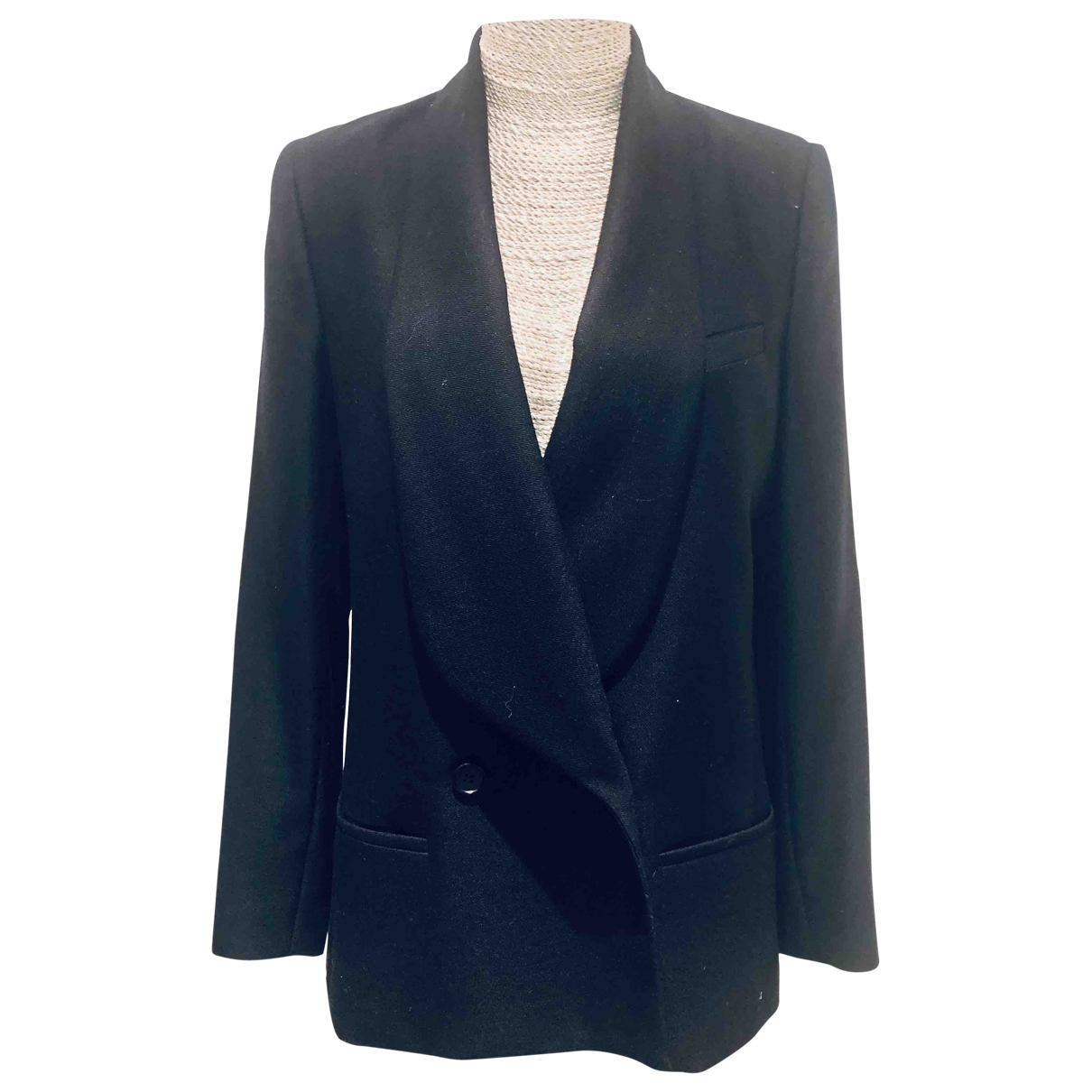 By Malene Birger \N Black Wool jacket for Women 40 FR