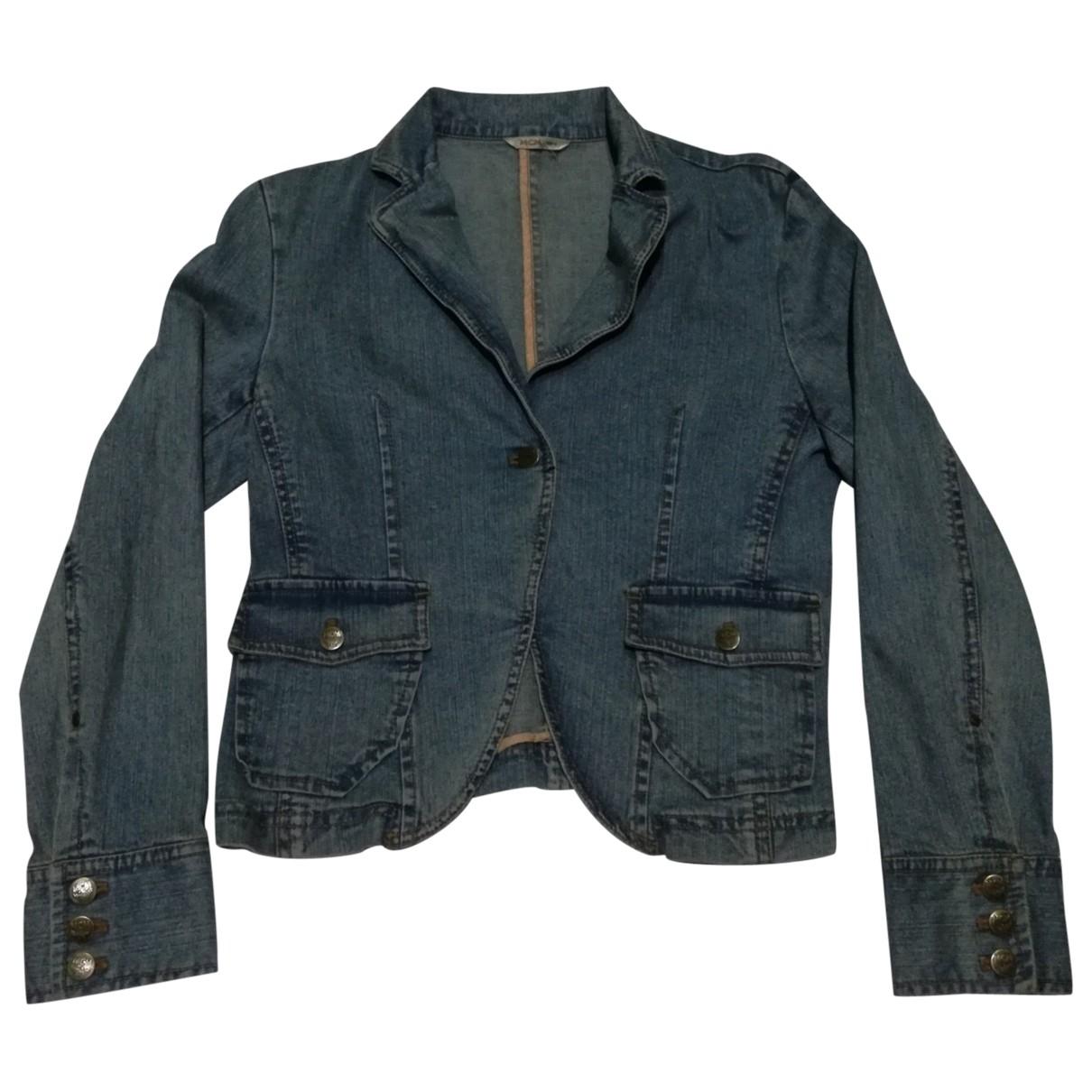 Mcm \N Jacke in  Blau Denim - Jeans