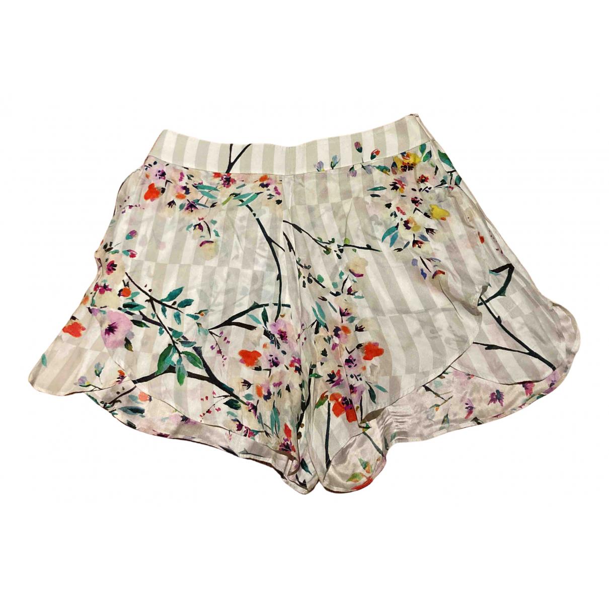 Paul & Joe - Short   pour femme en soie - multicolore