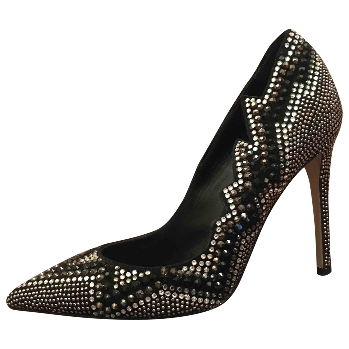 Le Silla \N Pumps in  Silber Mit Pailletten