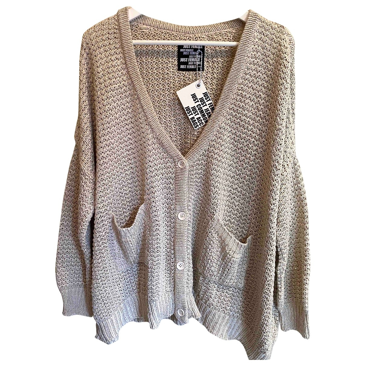 Just Female - Pull   pour femme - beige