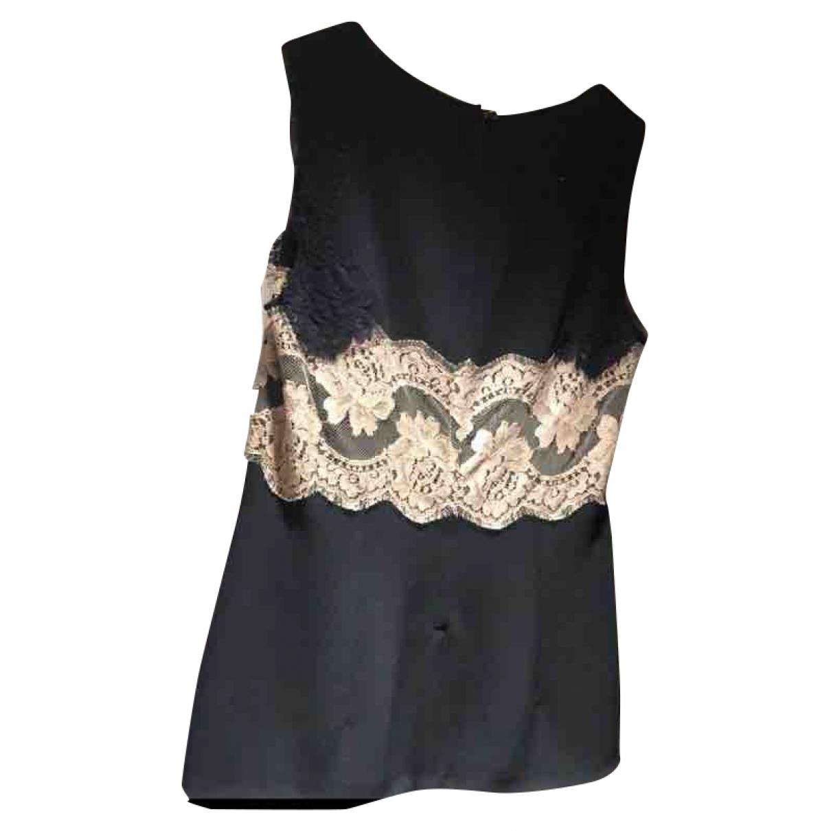 Dolce & Gabbana \N Top in  Schwarz Viskose