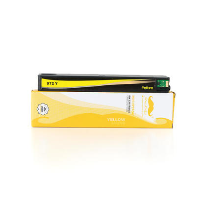 Remanufacturé HP 972A L0R92AN cartouche d'encre jaune pagewide