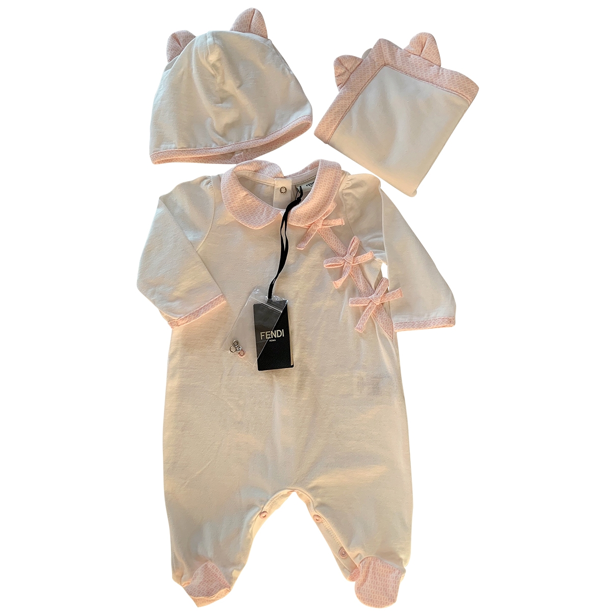 Fendi \N Pink Cotton Outfits for Kids 1 month - until 22 inches UK