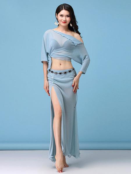 Milanoo Belly Dance Costume Women Top And Skirt Belly Dancing Wear Halloween