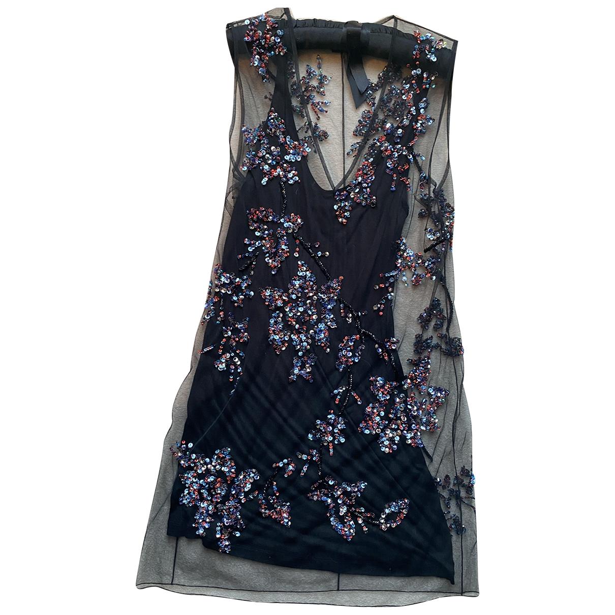 Pinko \N Black Glitter dress for Women 10 UK