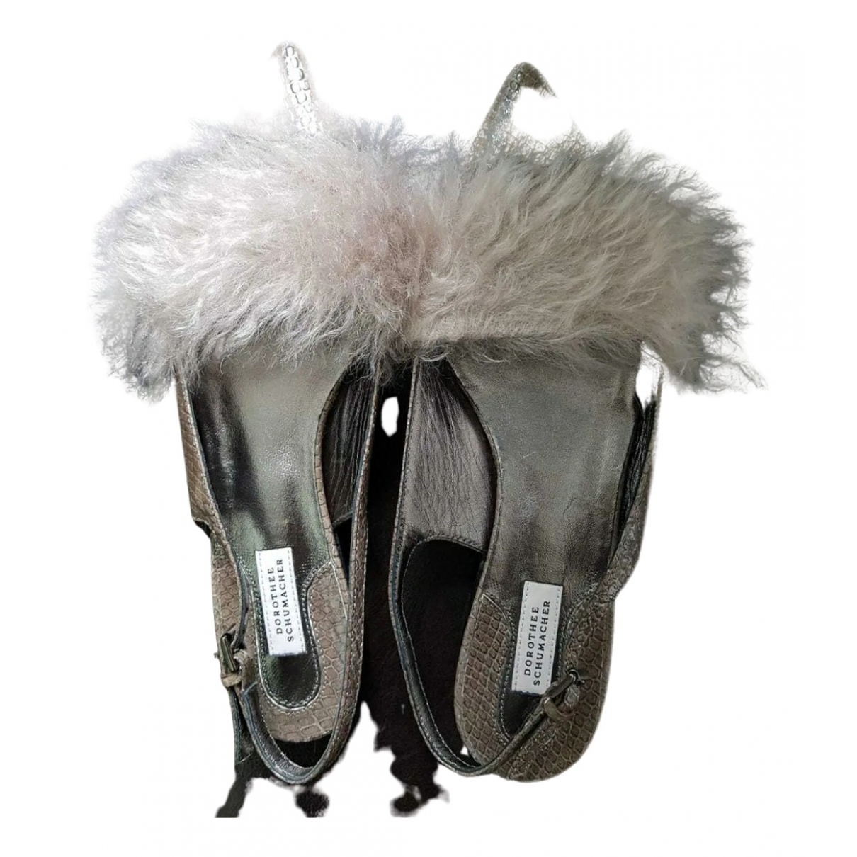 Dorothee Schumacher N Leather Flats for Women 37.5 EU