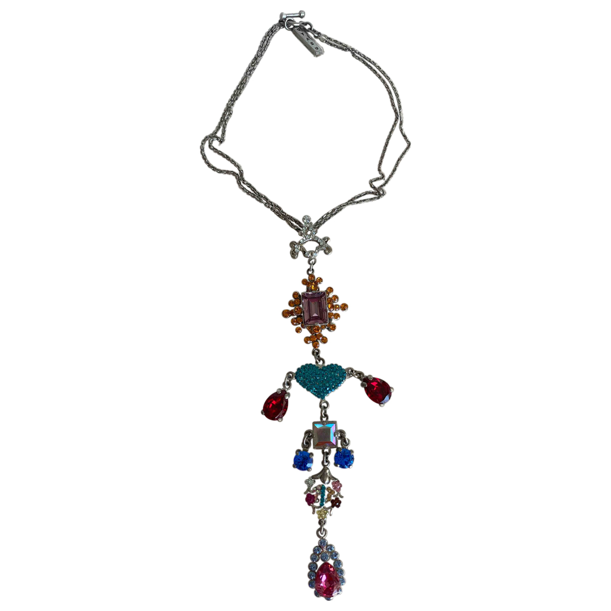 Rodrigo Otazu \N Multicolour Metal necklace for Women \N