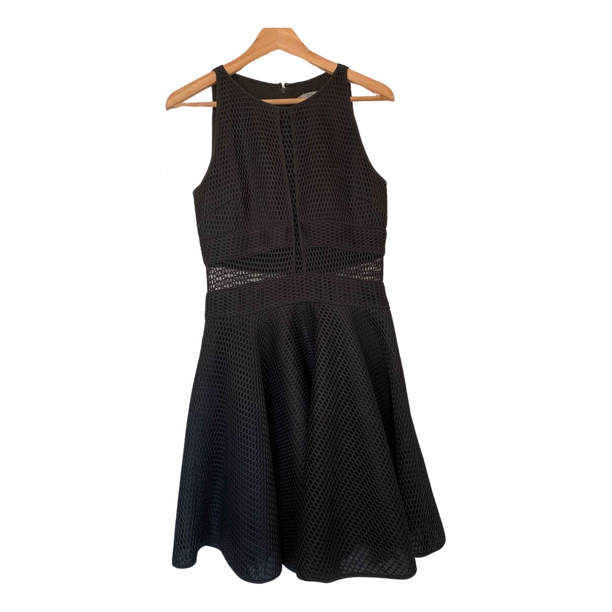 Zac Posen \N Kleid in  Schwarz Polyester