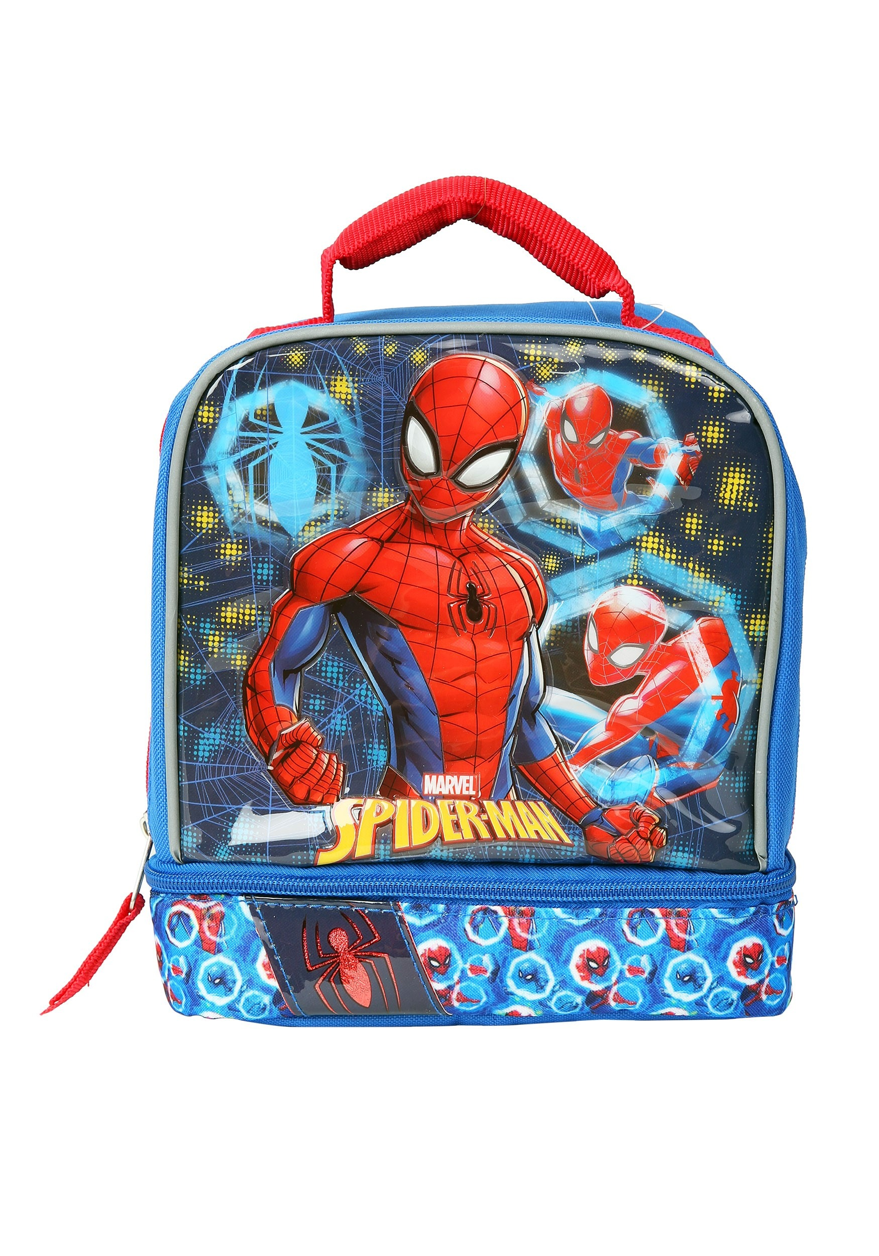 Marvel Spiderman Drop Bottom Lunch Kit