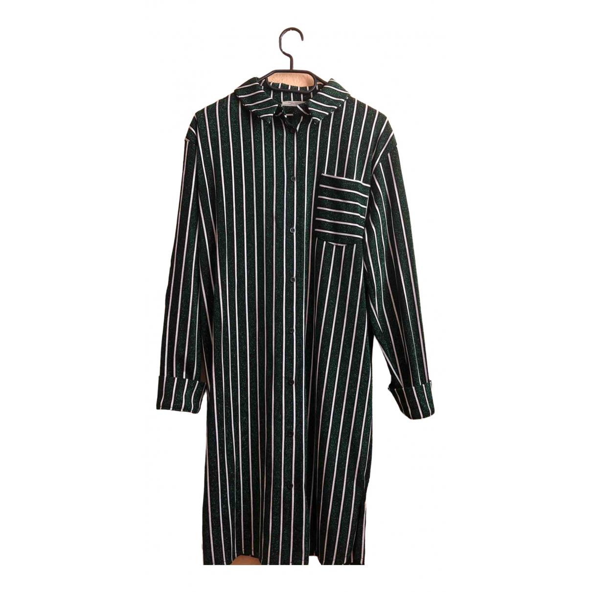 Zara \N Kleid in  Bunt Baumwolle - Elasthan